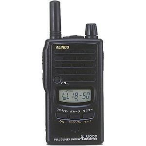 DJ-R100D 同時通話&交互通話 特定小電力トランシーバー アルインコ(ALINCO)|yamamotocq