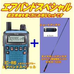 IC-R6メタリックブルー アイコム(ICOM) エアバンドスペシャルセット|yamamotocq