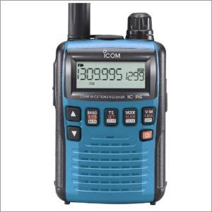 IC-R6メタリックブルー アイコム(ICOM) イヤホンプレゼント|yamamotocq