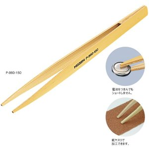 HOZAN 竹ピンセット P-860-125|yamamotocq