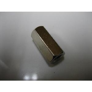 黄銅六角スペーサー(長ナット)  4x15|yamamotocq