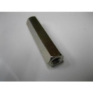 黄銅六角スペーサー(長ナット)  4x30|yamamotocq