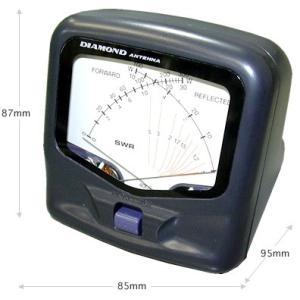 ダイヤモンドアンテナ (第一電波工業)  SX40C  (交差形電力計)