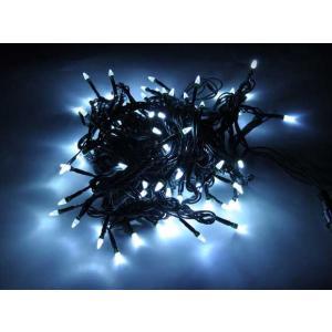 クリスマスツリー100球LED直線ライト ダイヤ型/緑線/白色 yamamotoningyou