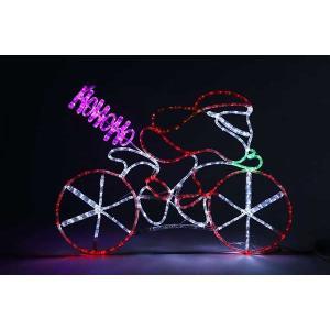 LEDサイクリングサンタ|yamamotoningyou