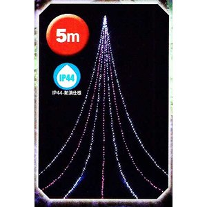5mニューピンクホワイトLEDドレープライト【ナイアガラ】KT-3251|yamamotoningyou