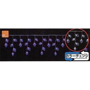 LEDリーフカーテンライト(ブルー&ホワイト) yamamotoningyou