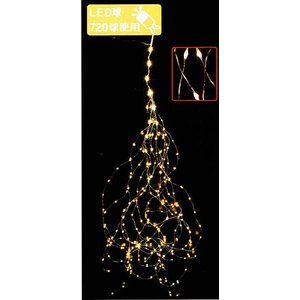 LEDワイヤーストリングライトDX(ゴールド) yamamotoningyou