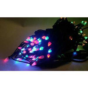 100球LED直線ライト ダイヤ型/緑線/4色コンビ yamamotoningyou