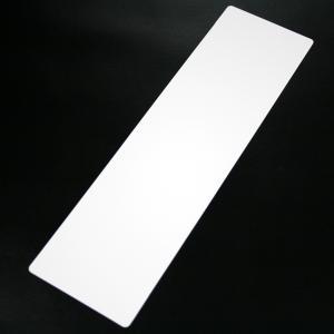 腕章差し替えシート無地挿入厚紙ホワイト(プリンター専用紙)|yamanaka-inc