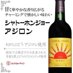 ワイン 赤 国産 アジロン あじろん 限定品 シャトーホンジョーアジロン2018 720ml 山梨, ギフト, ワイン,  贈り物, 贈答品, クーポン割引,|yamanashi-online