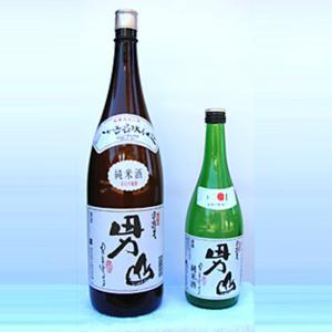甲斐男山 純米 1800ml 地酒 お取り寄せ|yamanashi-online