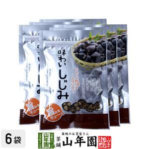 味わいしじみ 65g×6袋セット 味噌汁 おつまみ おやつ お菓子 しじみ汁 送料無料