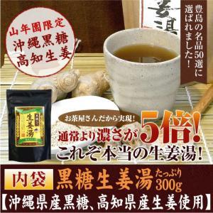 健康茶 黒糖生姜湯 300g 自宅用 高知県産生姜 国産 送料無料