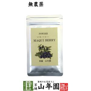 健康食品 無農薬マキベリー マキベリー  パウダー 粉末 30g チリ産 無農薬栽培 送料無料