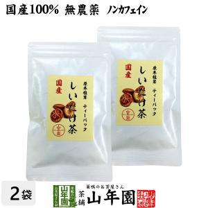 国産100% しいたけ茶 ティーパック 無農薬 3g×10パ...