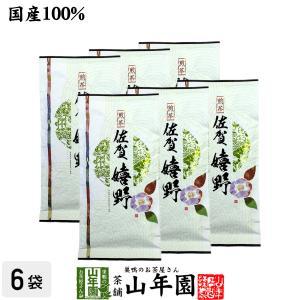 お茶 日本茶 煎茶 嬉野 100g×6袋セット 佐賀県 送料無料