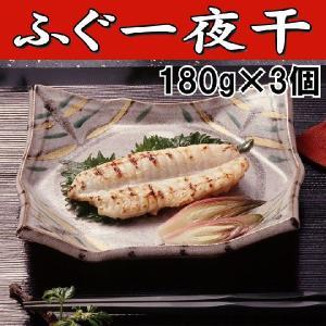 ふぐ フグ ふぐ一夜干し540g(180g×3パック) 下関 敬老の日 お歳暮|yamanishisuisan