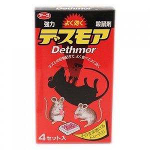 【防除用医薬部外品】アース 強力デスモア (30g×4)