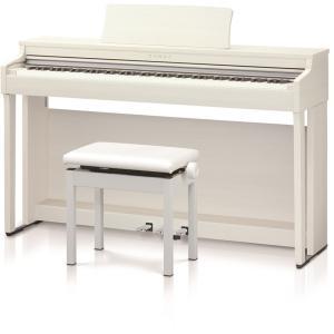 KAWAI 電子ピアノ CN27A / プレミアムホワイトメ...