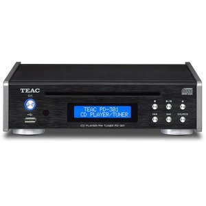 TEAC CDプレーヤー/FMチューナー PD-301-B / BK yamano-gakki