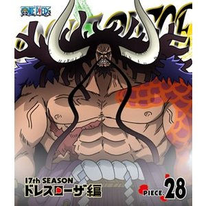 ONE PIECE ワンピース 17THシーズン ドレスローザ編 piece.28 Blu-ray