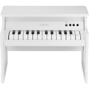 KORG tinyPIANO デジタル・トイ・ピアノ WHITE|yamano