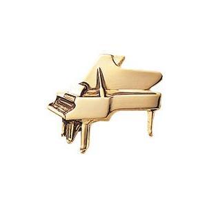 スタンダードブローチ(ピアノ/ゴールド)【ナカノ】 yamano