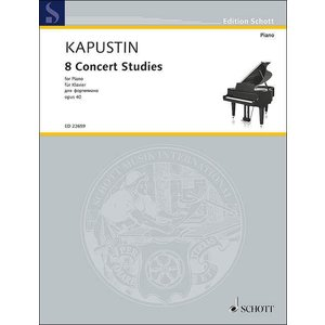 【楽譜】カプースチン:8つの演奏会用エチュード ...の商品画像