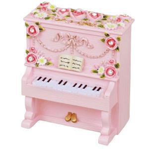 【ヂヤンテイ】オルゴール レジンピアノシリーズ G-6233P ピンク [ありがとう] yamano
