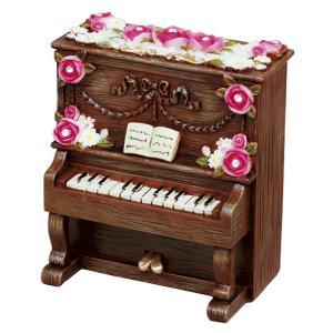 【ヂヤンテイ】オルゴール レジンピアノシリーズ G-6233B ブラウン [ノクターン] yamano