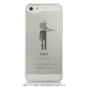 iPhoneケース(XR) ヴァイオリン (ブラック)|yamano