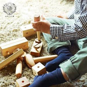 トンカチ、ドライバー、レンチ、釘や穴あきブロックなどが 小さな木箱入りセットになりました。  4種類...