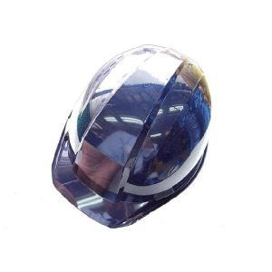 A-01Vヘルメット発泡スチロール入通気口付シール無し 紺|yamaoka-shop