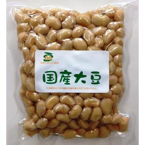 北海道産大豆水煮300g×3袋(国産・無添加・無化学調味料・国内製造品)ヤマリュウ yamaryu1970