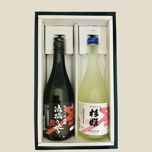 鴻城乃誉・杉姫純米吟醸セット720ml×2|yamashiroyasyuzou
