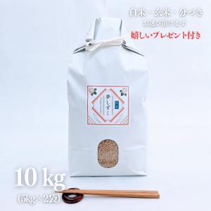 お米 10kg  特A 特別栽培米 佐賀県 夢しずく 令和元年産 玄米5kg×2袋 選べる精米|yamasina