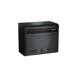 HSK ハッピーポスト 682-SBK ブラック色 ダイヤル錠付 郵便受け|yamasita