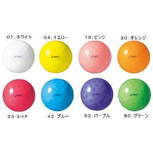 アシックス グランドゴルフ ボール クリアボールディンプルSH GGG325|yamasp