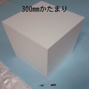 発泡スチロールかたまり(ブロック) 300mm×300mm×300mm 1個 普通硬さ|yamatami