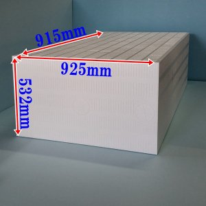 発泡スチロールかたまり(ブロック) 925mm×915mm×535mm 1個 普通硬さ|yamatami