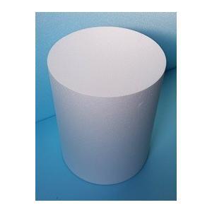 発泡スチロール円柱 直径100mm×長さ400mm 4個 普通硬さ yamatami