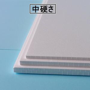 発泡スチロール板 中硬さ 14枚 450mm×450mm×厚さ20mm|yamatami