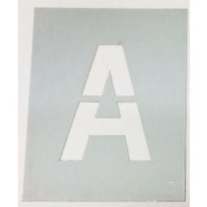 吹き付け板 【文字サイズ 縦110mm 英数字 角ゴシック体 1文字】 ステンシル刷り込み板 |yamato-design