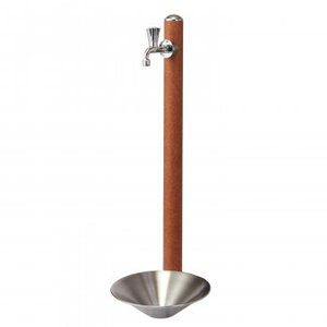 トーシンコーポレーション 水栓柱  CM11-F-LB/GPT-SUS30-PIC/GRH-COSTA-L    水栓:φ62×H900(全高1100)mm、ガーデンパン:Φ300×H80(全高150)mm、蛇口:Φ13 yamato-netshop