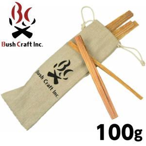 BushCraft ブッシュクラフト ティンダーウッド 100g 火起こし 焚火 457335072...