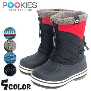 キッズスノーシューズ ブーツ プーキーズ POOKIES 防寒靴 スパイク付 PK-WP700S