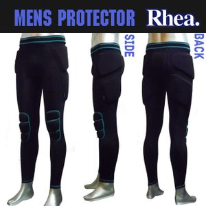 【RHEA】メンズ スノーボード プロテクター ヒップパット プロテクター RH-201