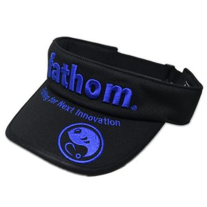 fathom フィッシングサンバイザー Blueロゴ|yamatoayura