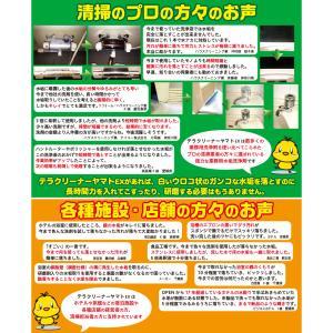 頑固な水垢取りにおすすめ 業務用水あか落とし洗剤 テラクリーナーヤマト 12本セット|yamatoayura|06